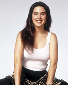 Amazon.com: JENNIFER CONNELLY Sexy Young White Top 003 8x10 PHOTO