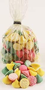 Scott's Cakes Smooth N Melty Pastel Mints in a 1 Pound White Stripes Bag