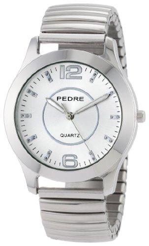 Pedre 0091SSX Silver Tone Expansion Bracelet