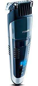 Philips QT4090/32 Black Pro Stubble Trimmer with Turbo Vacuum and Additional Stubble Comb (Packaging Varies)