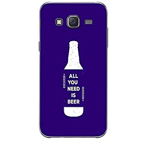 Skin4gadgets Awesome Wine & Dine Quotes, Pattern 59, Color - Salmon Phone Skin for SAMSUNG GALAXY J5