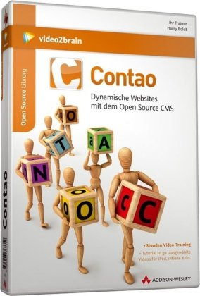 Contao - Dynamische Websites mit dem Open Source CMS (PC+MAC+Linux)
