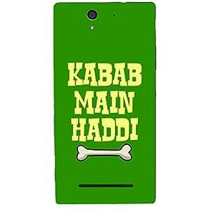 Skin4gadgets KABAB MAIN HADDI Phone Skin for SONY XPERIA C3 DUAL (s55t)