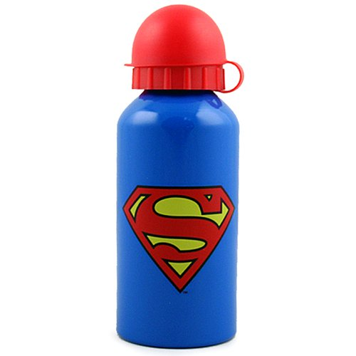 Superman Aluminum Water Bottle [14 oz - 400 ml] - 1