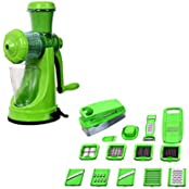 Apex Combo Of 14 In 1 Nicer Dicer And PVC Juicer