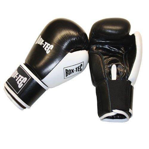 BOX-TEC Boxhandschuhe Shadow IFT 10oz Leder schwarz