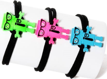 Nerd Robot Bracelet Assorted Colors