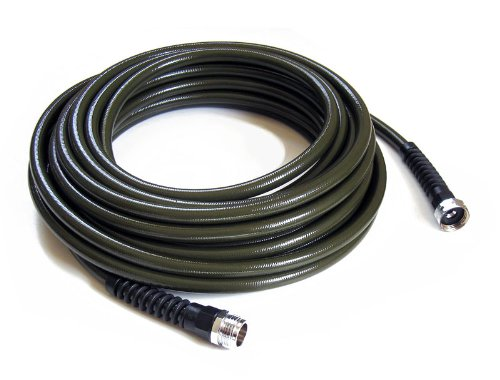 Water Right PSH-025-MG-6PKRS 25-Foot x 1/2-Inch Polyurethane Lead Safe Ultra Light Slim Garden Hose - Olive Green