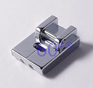 Compatible Concealed Invisible Zipper Sewing Machine Presser Foot by 60°®