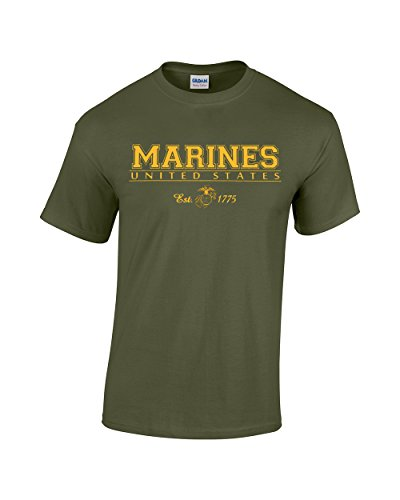 crazy-bros-tees-united-states-marines-us-marines-est-1775-mens-t-shirt-x-large-military-green