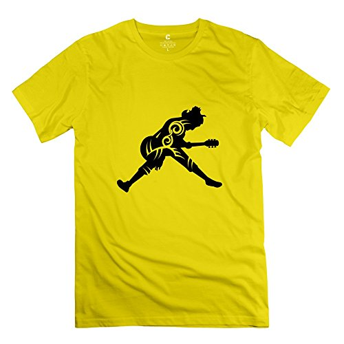 Ywt Guitar Player Tribal Man Clothing Unique Cool Yellow