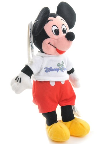 Disney Quest Mickey Mouse Bean Bag Rare [Toy]