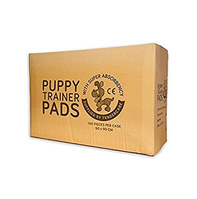 100 Tendercare Puppy Training Pads 60x90 cm (X-Large) Mats (Tendercare)