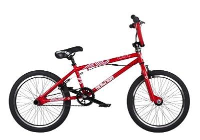 Barracuda Boys' Stance Freestyle BMX Bike - Satin Red, 20 Inch