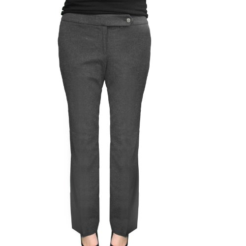 Calvin Klein Women'S Classic Fit Pants (12X30, Charcoal)