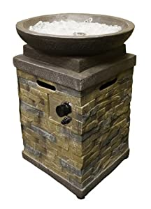AZ Patio Round Faux Stone Fire Pit (Discontinued by Manufacturer)