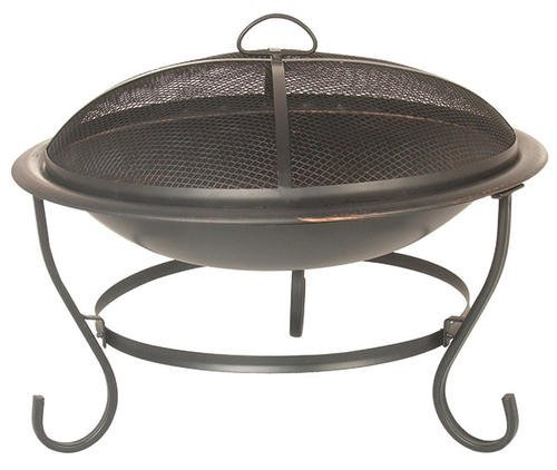 Wood-Charcoal-23-Portable-Outdoor-Patio-Backyard-Fireplace-Fire-Pit-w-Screen