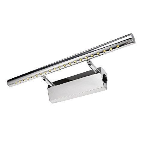 Liqoo-Mit-Schalter-5W-LED-Spiegelleuchte-Spiegellampe-180einstellbar-Badlampe-Badleuchte-Bildleuchte-Schrankleuchte-Wandlampe-Wandleuchte-aus-Edelstahl-Kaltwei-6000K-370Lumen-21-x-5050SMDs