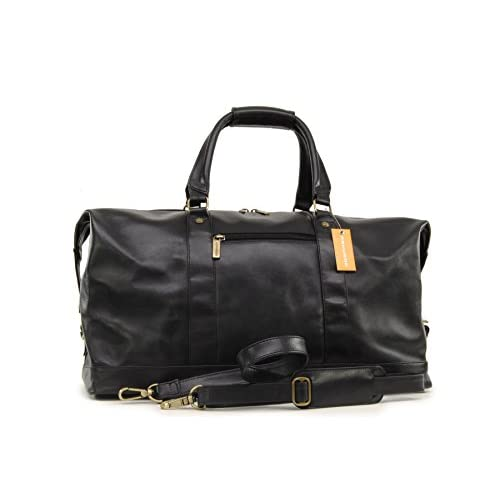 Ashwood Travel <strong>Weekend Bag - Leather< strong> Holdall