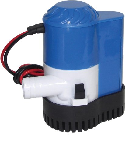 Shoreline Marine 800 GPH Bilge Pump with Auto Switch