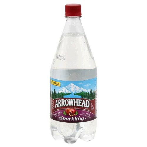 Arrowhead Water, Pomegranate Essence, 1.00 LTR (Pack of 12)