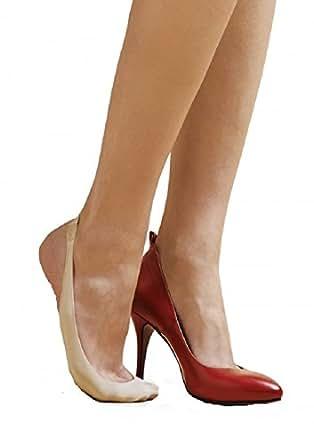 marilyn luxe high heel shoe liner socks 2 pack