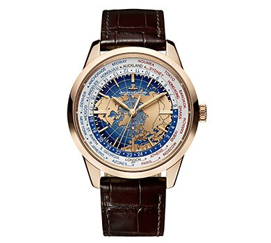 Jaeger LeCoultre Geophysic Universal Time 18K Pink Gold Automatic Mens Watch Q8102520