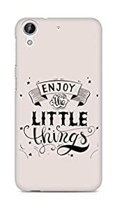 AMEZ enjoy the little things 2 Back Cover For HTC Desire 626 G
