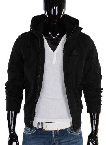 Cipo & Baxx Winter Jacket Mens Jacket C-7013 Black XXL