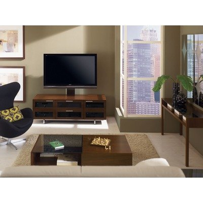 Cheap Avion II 65″ TV Stand in Chocolate Stained Walnut (8927CH)
