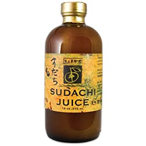 Yakami Orchard 100% Pure Japanese Sudachi Juice 12 oz. / 375 ml