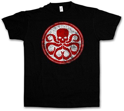 HYDRA VINTAGE LOGO II T-SHIRT - Nick Marvel Agent SHIELD Fury Comic Movie Shirt Taglie S - 5XL