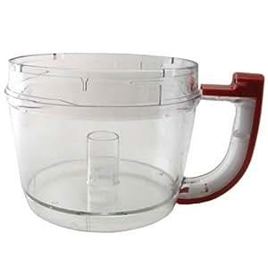 Amazon Com Kitchenaid 12 Cup Work Bowl Empire Red Food