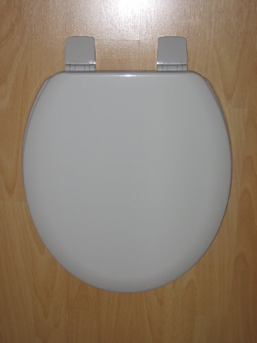 Bemis Whisper Grey Toilet seat