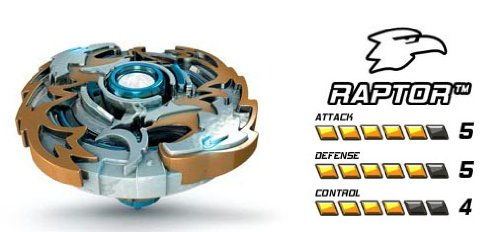 Battle Strikers Metal XS Raptor