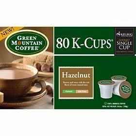 Keurig Green Mountain Coffee Hazelnut K-Cups - 80 pk.