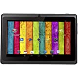 "7"" inch Touch Screen Dual core Allwinner A23 1.5GHz CPU Android 4.2.2 Tablet PC Dual camera 4GB HDD 512MB WiFi (Black)"