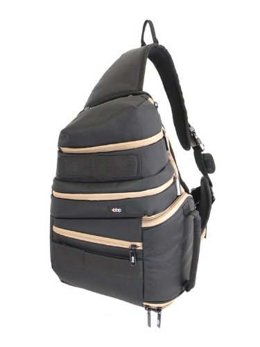 BBP DSLR Sling Bag Black/Tan