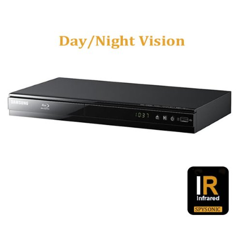 True Day & Night Vision Self Recording Hidden Camera Dvr Toshiba Dvd Player With Motion Activation, Full D1@720X480 High Resolution 550 Lines