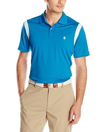 IZOD Men's Short Sleeve Presidential Pieced Golf Polo