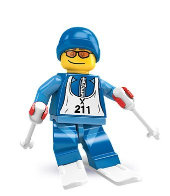 Lego Collectable Minifigure Series 2 - Downhill Skier - Sealed by LEGO