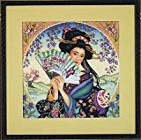 Dimensions Gold Counted Cross Stitch Kit - Enchanting Geisha
