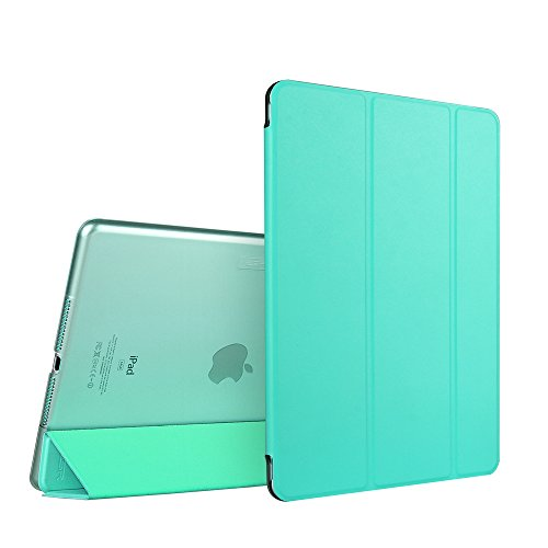 iPad Air 2 Case, ESR Smart Case Cover with Trifold Stand and Magnetic Auto Wake & Sleep Function for iPad Air 2 / iPad 6th Generation (Mint Green)