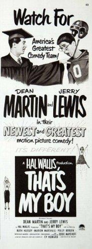 1951-ad-thats-my-boy-dean-martin-jerry-lewis-hal-wallis-hal-walker-comedy-team-original-print-ad