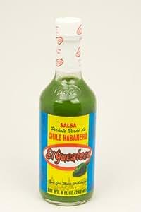 El Yucateco Hot Green Sauce 8 oz