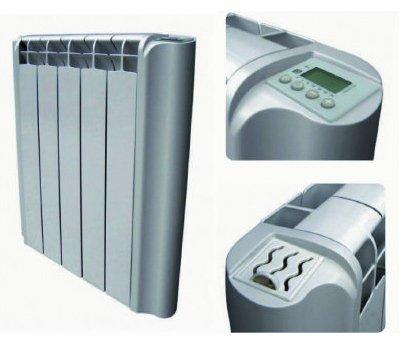 Radiador el�ctrico digital de baja inercia t�rmica 7 elementos 1000w