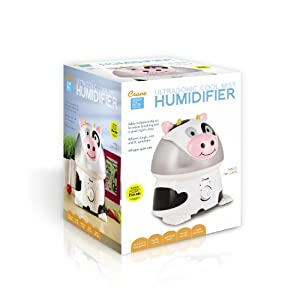 10 X Crane Adorable Ultrasonic Cool Mist Humidifier with 2.1 Gallon Output per Day - Cow by Crane