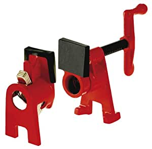 Bessey BPC-34 3/4-Inch H Style Pipe Clamp