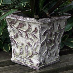 Antiqued Leaf Cachepot - Park Seed Planters - Buy Antiqued Leaf Cachepot - Park Seed Planters - Purchase Antiqued Leaf Cachepot - Park Seed Planters (Park Seed, Home & Garden,Categories,Patio Lawn & Garden,Plants & Planting,Plant Containers & Accessories)
