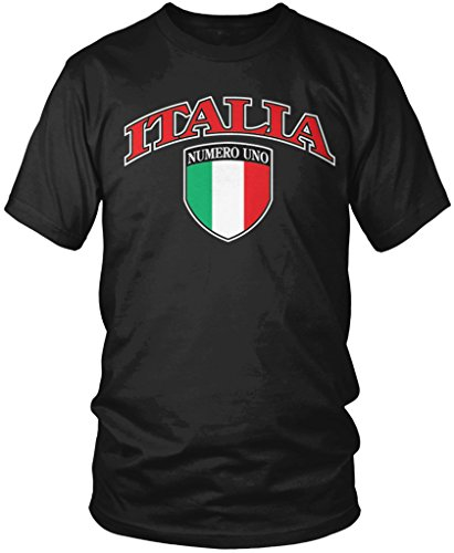 italia-crest-italian-pride-italy-flag-shield-mens-t-shirt-amdesco-black-medium